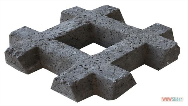 bloque de cesped x